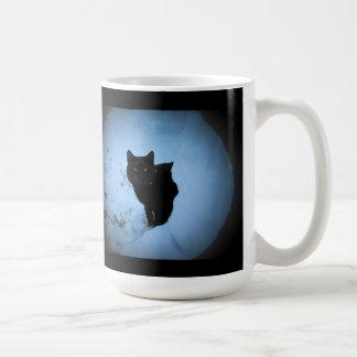 Quoute del gato negro de Groucho Marx Taza