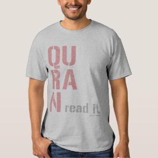 Quran: Read It Shirt