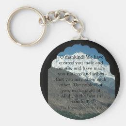 Quran Verse Keychain