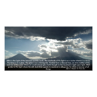 Quranic Photoprint Personalized Photo Card