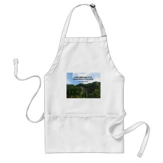 Qute about the WIlderness. Aprons