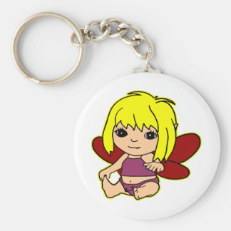 Qute Baby Fairie Girl Keychain