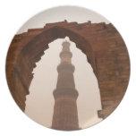 Qutub Minar en Delhi Platos Para Fiestas