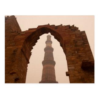 Qutub Minar en Delhi Postales