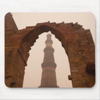 Qutub Minar in Delhi Mouse Pad