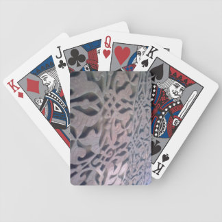 Qutub Minar wall inscription Bicycle Playing Cards