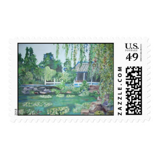 Quyuan Garden, China Postage Stamps