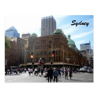 qvb sydney postcard