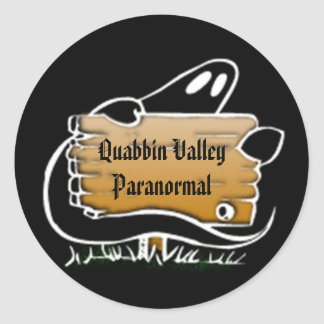 QVP Ghost QVP Sign Sticker