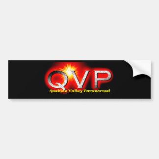 QVP Logo Bumper Sticker Car Bumper Sticker
