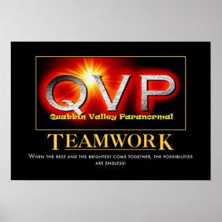 QVP Motivational Teamwork Poster