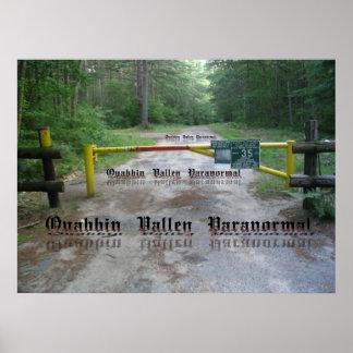 QVP Quabbin Gate Poster