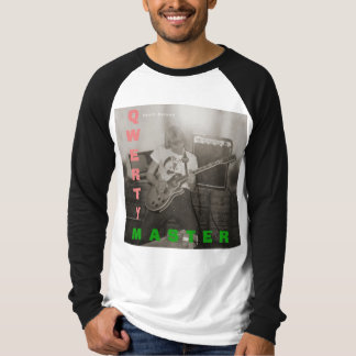 Qwerty Master Playing Guitar T-Shirt
