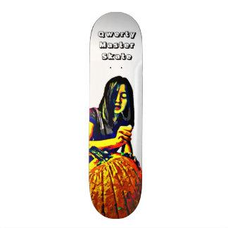 Qwerty Master Skateboards--Carving Pumpkins Skateboard Decks