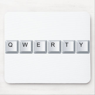 Qwerty Mouse Pad