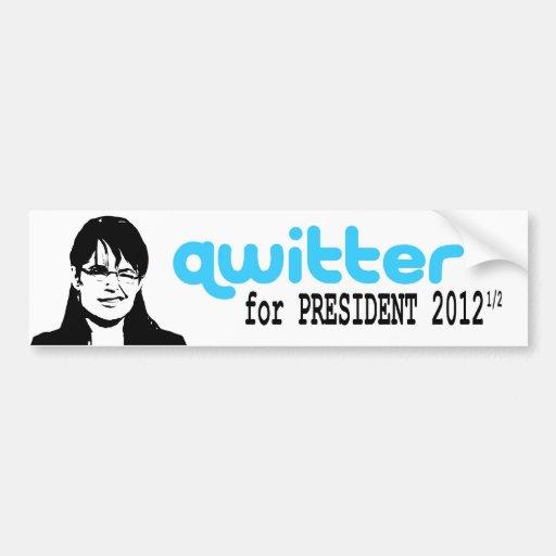 Qwitter Bumper Sticker