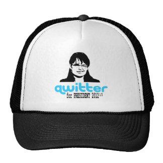 Qwitter Cap Mesh Hats