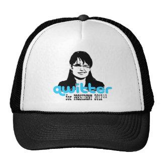 Qwitter Cap Trucker Hat
