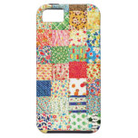 QWL Patchwork Quilt COLORFUL PATTERN BACKGROUND HO iPhone 5 Cases