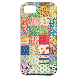 QWL Patchwork Quilt COLORFUL PATTERN BACKGROUND HO iPhone SE/5/5s Case