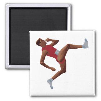 QWOP Goofy Track Runner Magnet