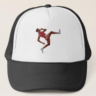 QWOP Goofy Track Runner Trucker Hat