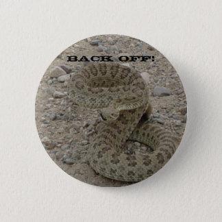 R0009 Prairie Rattlesnake Button