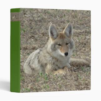 R0022 Coyote Laying Binder