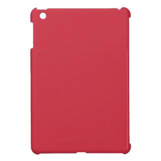 R06 Renewed Brick Red Color iPad Mini Cover