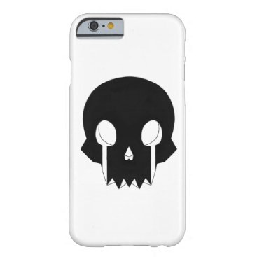 R107 skull Iphone Barely There iPhone 6 Case
