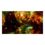 R136- A Cluster of Massive Stars in Doradus Nebula Poster