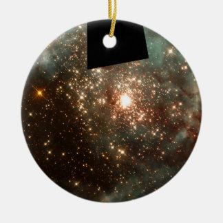 R136- A Cluster of Massive Stars in Nebula 30 Dora Christmas Tree Ornaments