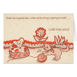 R18: I Miss you Card