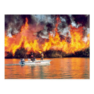 r2-az-imr-prescribed fire ignited by boat post cards