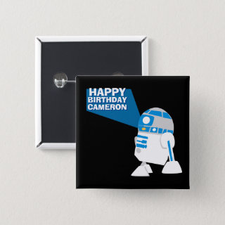 R2-D2 Happy Birthday Projection Button