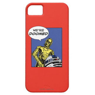 R2-D2 y C-3PO cómicos Funda Para iPhone SE/5/5s
