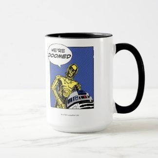 R2-D2 y C-3PO cómicos Taza