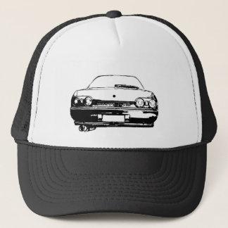 r32 skyline trucker hat