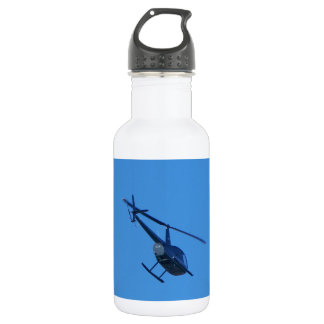 R44 Helicopter Stainless Steel Water Bottle