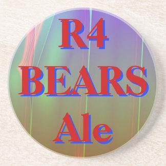 R4 LLEVA la cerveza inglesa Posavasos Cerveza