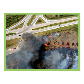 r4-southeast-aerial ignitions along highway post cards