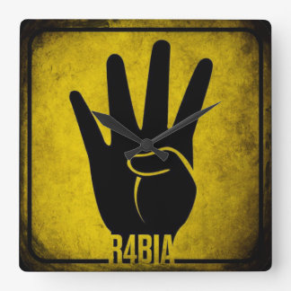 R4BIA SQUARE WALL CLOCK
