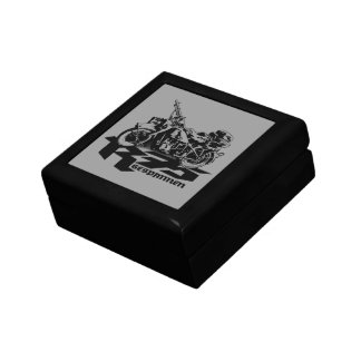 """R75 Small 5.125"""" Square w/4.25"""" Tile Gift Box"""