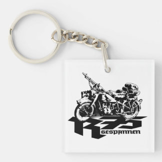 R75 Square (double-sided) Keychain