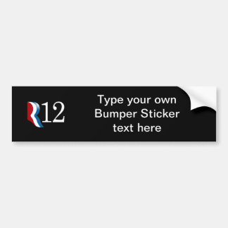 R 12 BUMPER STICKER