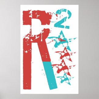 R 2 ajustó a Romney Ryan Impresiones