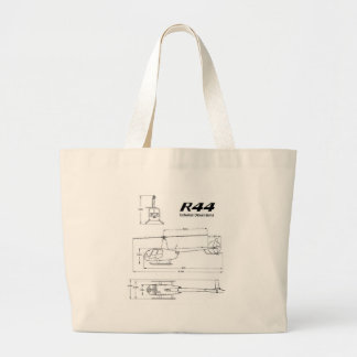 R-44 Robinson Large Tote Bag