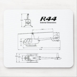 R-44 Robinson Mouse Pad