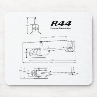 R-44 Robinson Mouse Pad