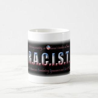 R.A.C.I.S.T. CLASSIC WHITE COFFEE MUG